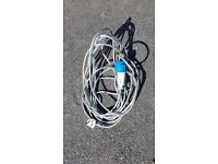240 V POWER LEAD ARMOURED CABLE APROX 20 M LONG POSSIBLY LONGER