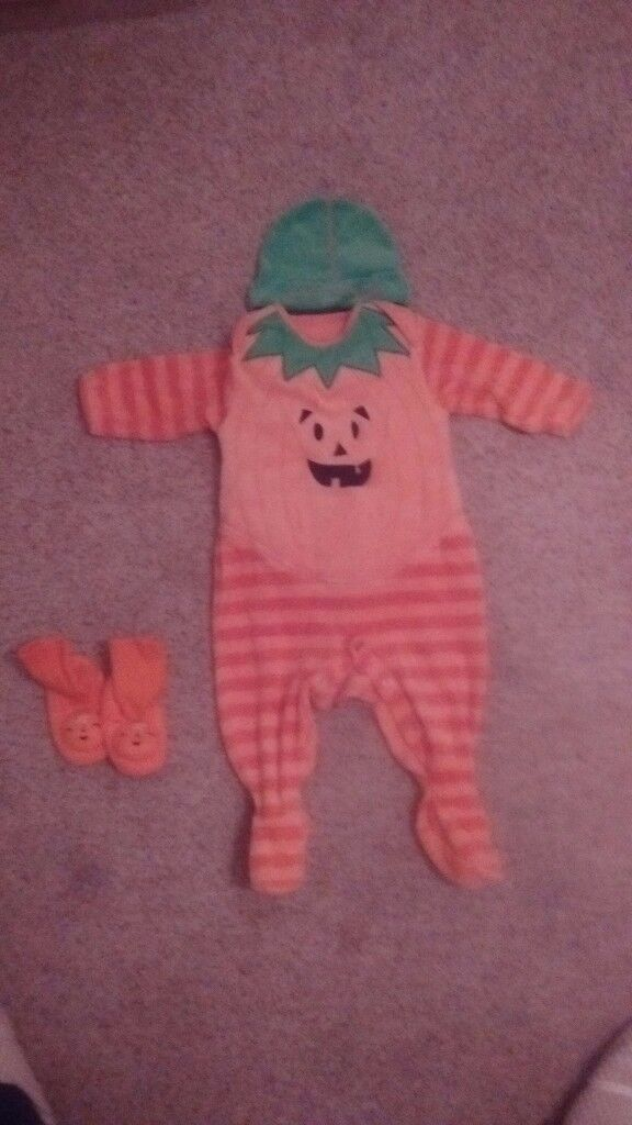 Mothercare All in one Halloween Outfit 6-9 months excellent condition