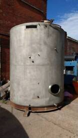 Water tank 4000 gallon steel