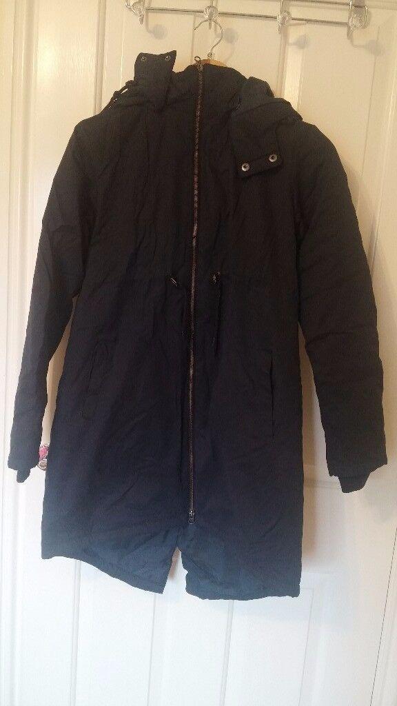 Jojo Mama Padded 2 in 1 Maternity coat with hood size 10
