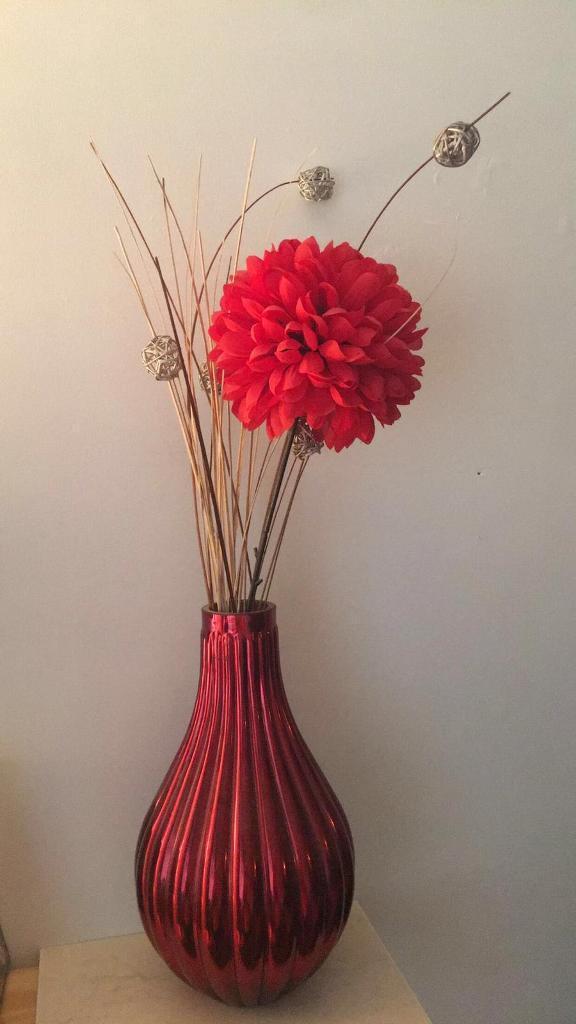 Red Next Vase In Bradford West Yorkshire Gumtree