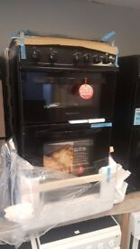 Brand New MONTPELLIER MDG500LK 50cm Double Oven Gas Cooker with WARRANTY