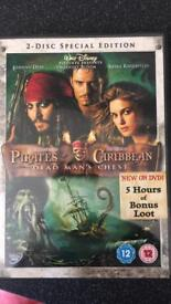 Pirates of the Carribean DVD