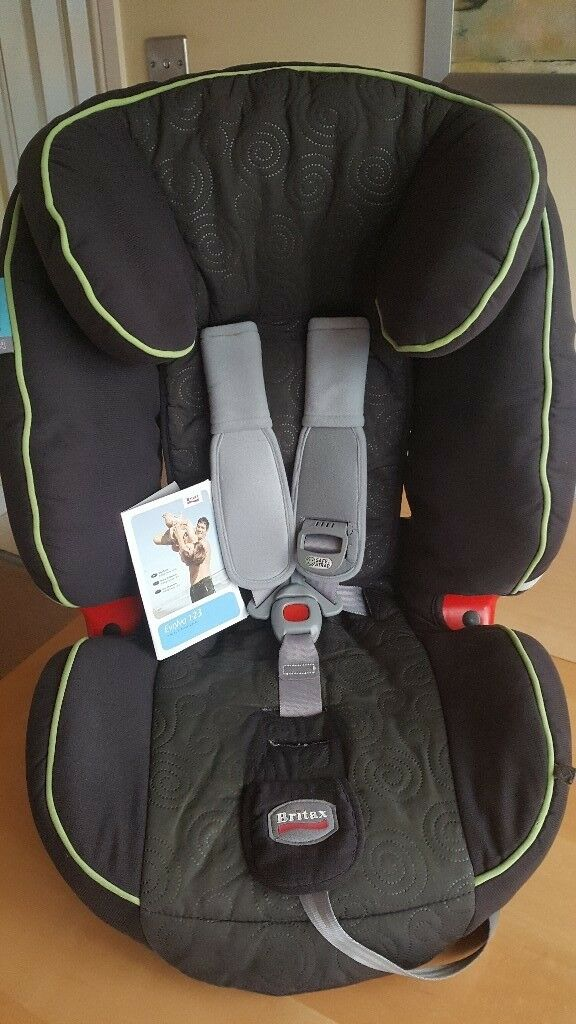 Britax Evolva 1 2 3 High Back Booster Car Seat Grows With Child From