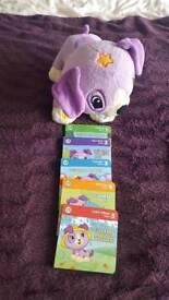 Vtech read with me violet