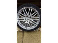 Alloy wheels. Audi.vw