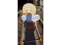 Mamia giraffe high chair