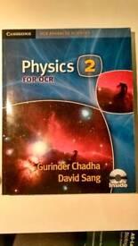 Books for A-Level: Media, Physics, Biology