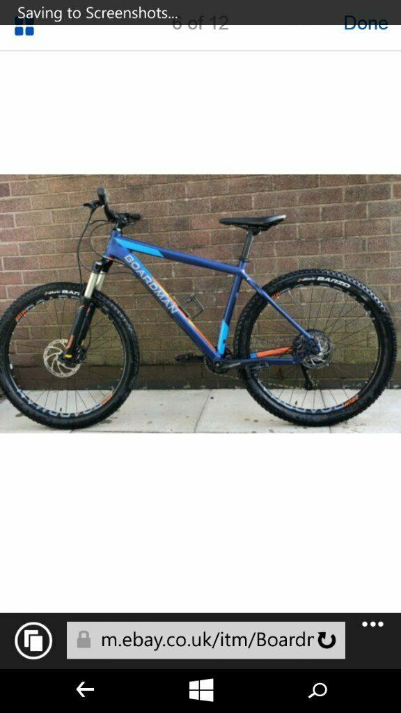 Mens Boardman MHT 8.6 Mountain bike blue | in Wigan, Manchester | Gumtree