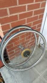 28-590 (650 × 28A ) wheel set 6 speed