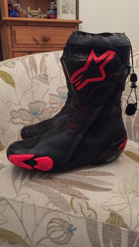 Alpinestars supatech boots size 43 (UK 9)