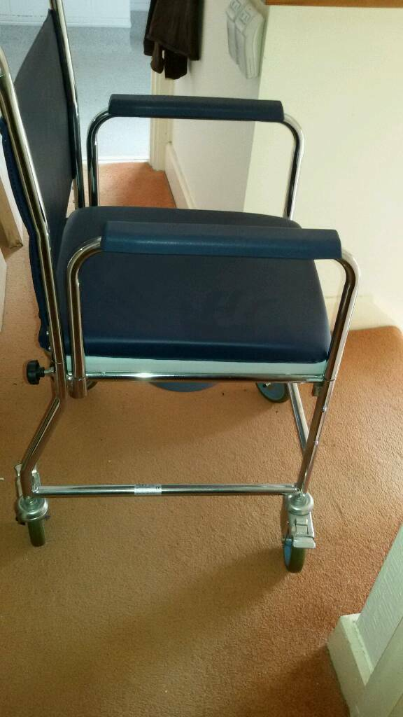 Wheel chair commode shower chair | in Cardiff | Gumtree