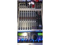 Nice and clean dj equipment very good condition ready to start you own partys