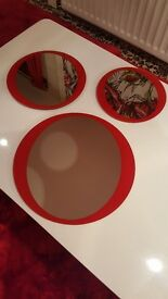 RED MIRRORS FROM NEXT