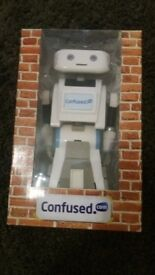 Brian the robot toy from confused . com