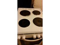 Freestanding Electric Cooker with 4 hobs