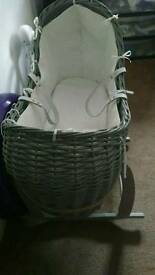 Pram and moss basket