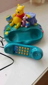 DISNEY WINNIE THE POOH/PIGLET COLLECTABLE CORDED HOME PHONE