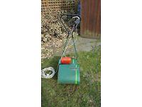 Qualcast ep30 punch cylinder lawn mower.