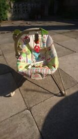 Fisher-Price Baby Bouncer - with Instructions - Fully washed - Used once for son