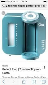 Tommie Tippee Perfect Prep Machine Cool Blue