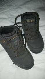 Brown firetrap boots child size 11