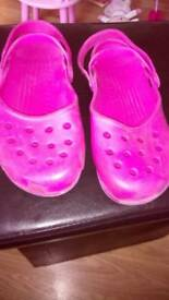 Crocs size 10 genuine