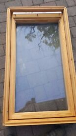 New Velux window and flashing kit. 66cm x 118cm. GGL 206 and flashing kit EDL206