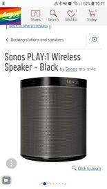 Sonos speaker wireless