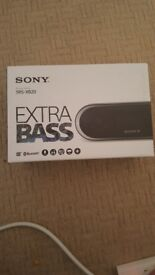 Sony bass speaker brand new in box