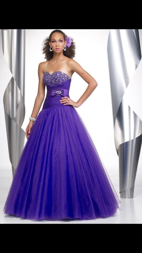 Purple Prom Dress | in Chelmsford, Essex | Gumtree