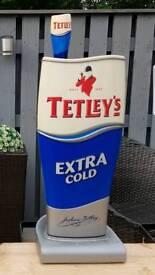 Tetley beer pump