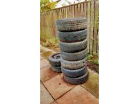 Citroen / Peugeot steel wheels plus tyres