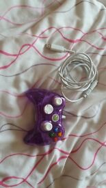 SOLD- xbox 360 controller - rock candy - harldy used as purchased a wireless - all needs gone