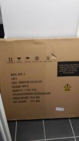 nova single bed white brand new in box