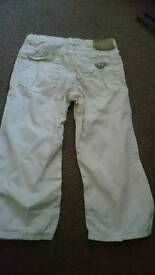 Armani 18month Trousers