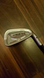 Ping Anser forged 7 iron black dot