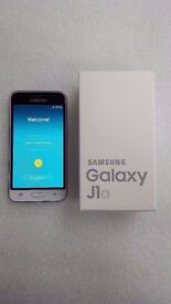 SAMSUNG GALAXY J16 WHITE UNLOCKED DUAL SIM BRAND NEW WITH RECEIPT