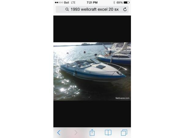 1993 Wellcraft Marine Corp Excell