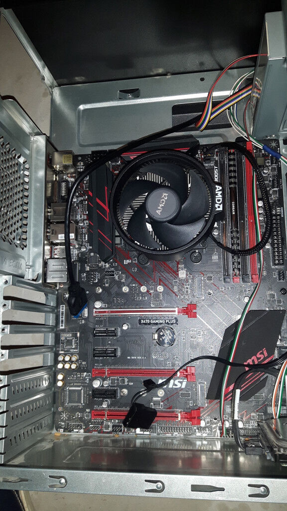 msi am4 x470 gaming plus motherboard | in Stoke-on-Trent, Staffordshire |  Gumtree