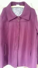 Ladies coat 22 / 24