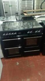 Leisure 100cm Dual Fuel Range cooker with hot plate SALE ON SOLD FOR £199