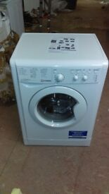 INDESIT 7KG WASHING MACHINE new ex display which may have minor marks or blemishes.