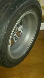 Honda civic single alloy