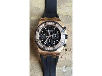Audemars Piguet watch - Royal Oak Offshore chronograph (Alinghi limited edition)