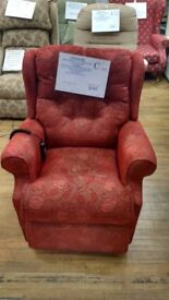 Ex-Demo British Made Dual Motor Riser Recliner Chair, Delivery Available