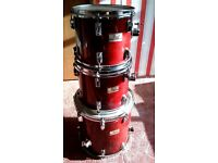 PEARL PROFESSIONAL DLX SERIES ~90's drumset/Yamaha JD Series Snare Drum/Drum Stool/Drum Machine
