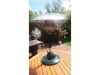 Outdoor Table top gas heater.
