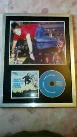 Signed cd cover Jamie cullum