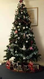 """Christmas Tree 7'6"""" tall"""
